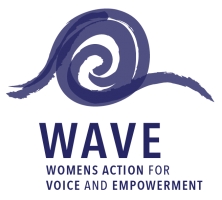 Image of WAVE logo, an IWDA program.