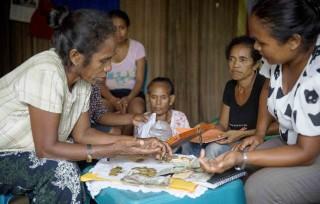 Participants of the Rural Women's Development Project in Timor-Leste. Photo: Anna Carlile