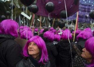 Photograph: Eitan Abramovich/AFP/Getty Images