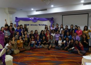 Image of women at CEDAW workshop.