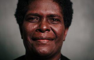 Rose Pihei of Bougainville Women's Federation. Photo: Gemma Carr