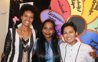 ELF Graduates Lagakali Tavaiqia, Nandni Vandhana, Ashlyn Sheena Lal. Photo: Bronwyn Tilbury