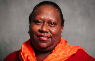 Pionie Boso, Women's Rights Action Movement. Photo: Gemma Carr